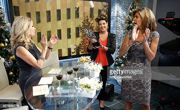 Kathie Lee Gifford Tessanne Chin and Hoda Kotb appear on NBC News' 'Today' show