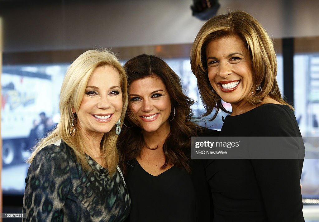 Kathie Lee Gifford, Tiffani Thiessen and Hoda Kotb appear on NBC News' 'Today' show --