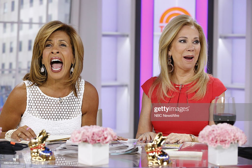 Kathy Lee Gifford and Hoda Kotb appear on NBC News' 'Today' show --