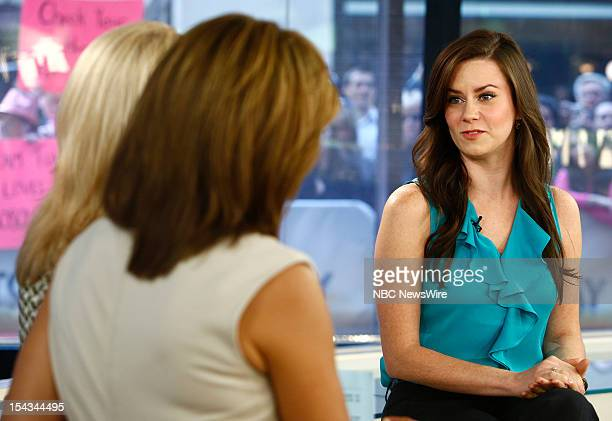 Katie Featherston appears on NBC News' 'Today' show