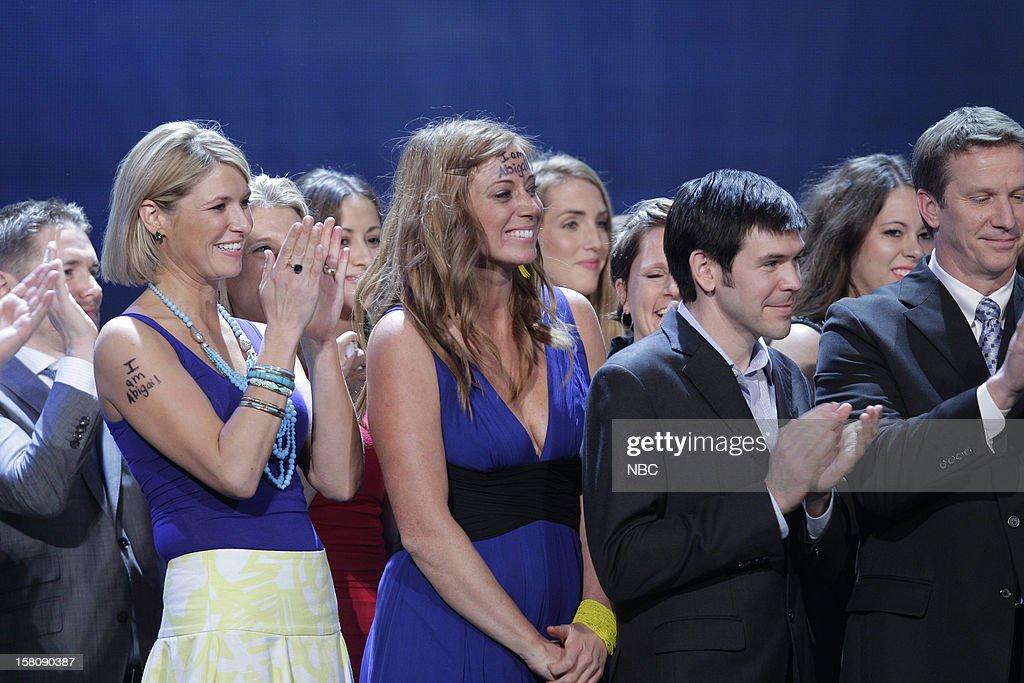 Katie Meyler, More Than Me Foundation (center) --