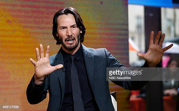 Keanu Reeves appears on NBC News' 'Today' show