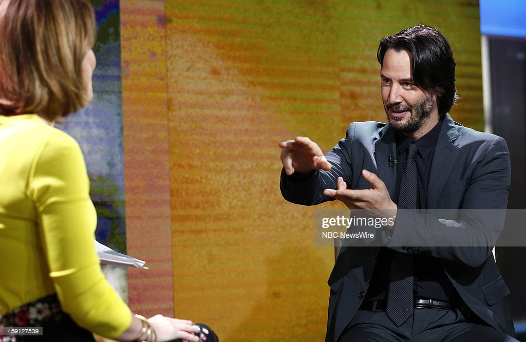 Keanu Reeves appears on NBC News' 'Today' show --