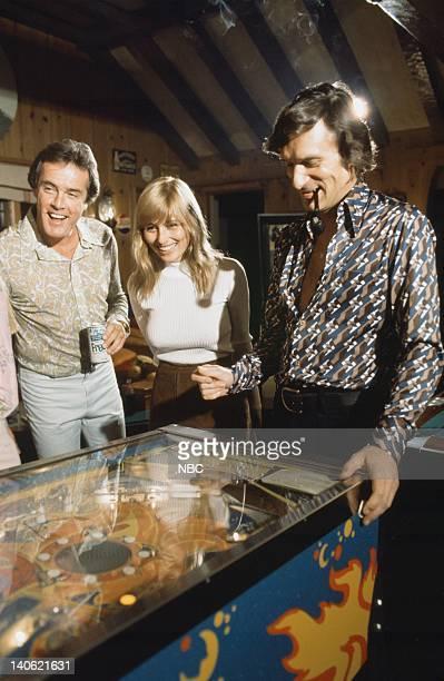 Keith Hefner November 1975 Playmate Janet Lupo and Playboy founder Hugh Hefner Photo by NBCU Photo Bank