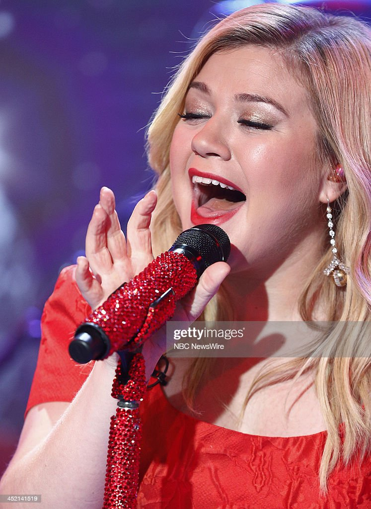 Kelly Clarkson appears on NBC News' 'Today' show --