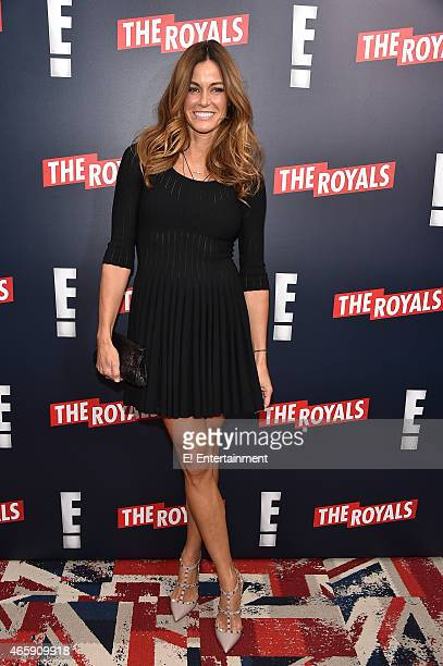 Kelly Killoren Bensimon at The Royals premier party at The Top of The Standard on March 9 2015