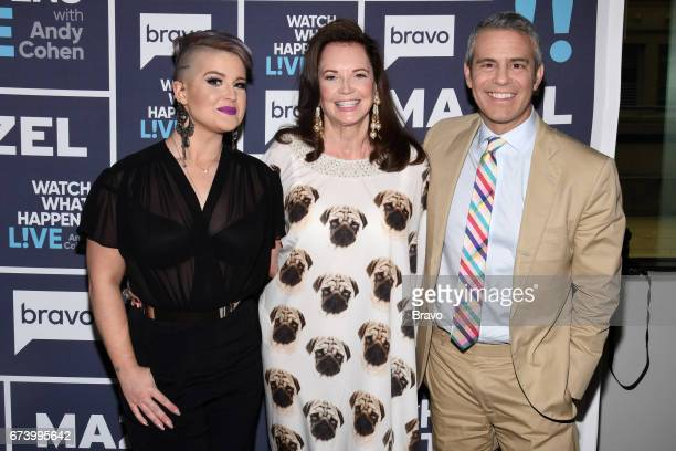 Kelly Osbourne Patricia Altschul and Andy Cohen