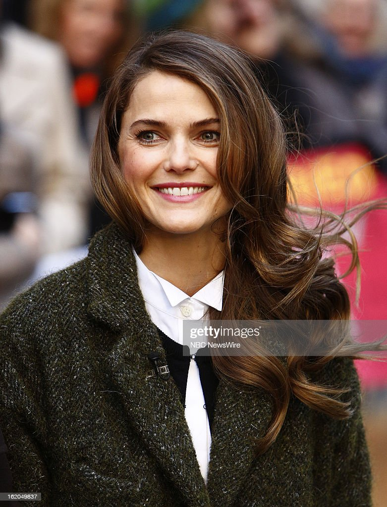 Keri Russell appears on NBC News' 'Today' show --