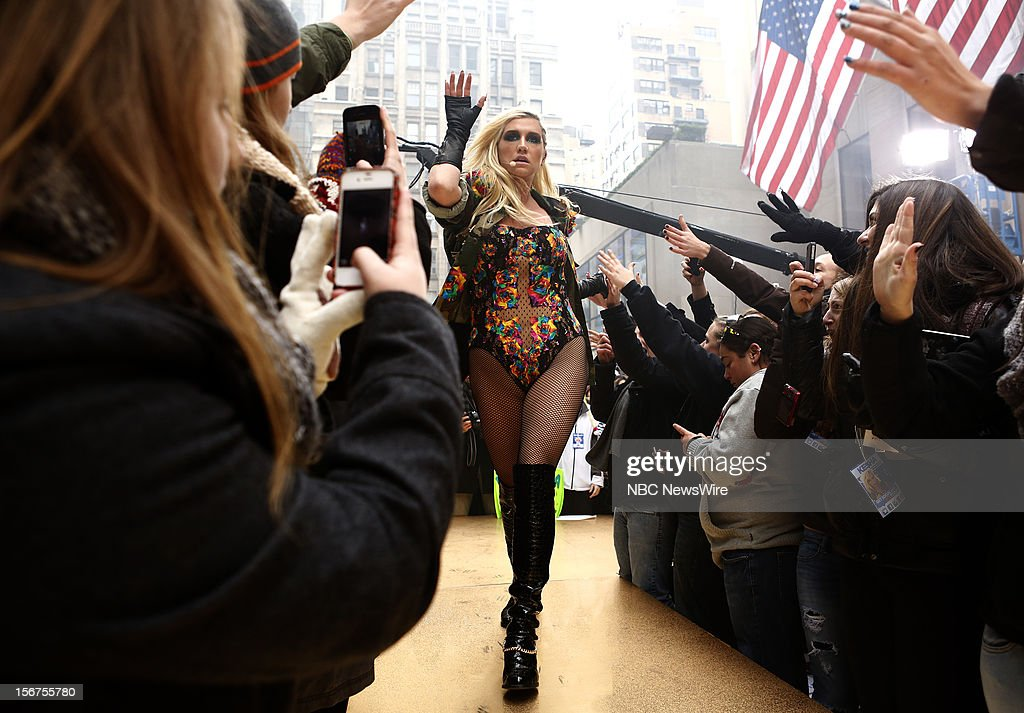 Kesha appears on NBC News' 'Today' show --