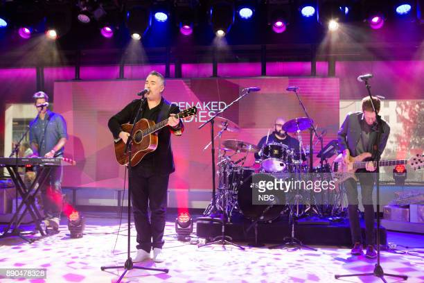 Kevin Hearn Ed Robertson Tyler Stewart Jim Creeggan of Barenaked Ladies on Wednesday December 6 2017