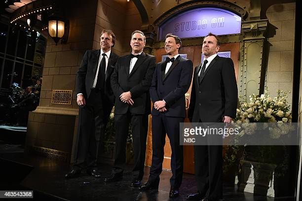 Kevin Nealon Norm Macdonald Seth Meyers Colin Quinn on February 15 2015