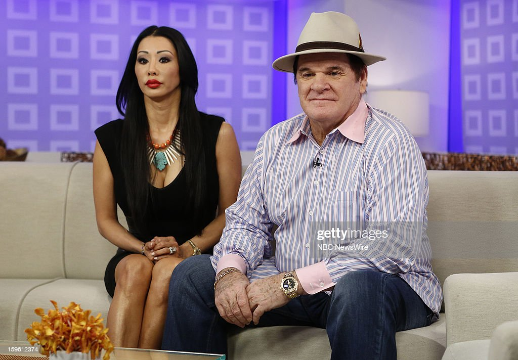 Kiana Kim and Pete Rose appear on NBC News' 'Today' show --