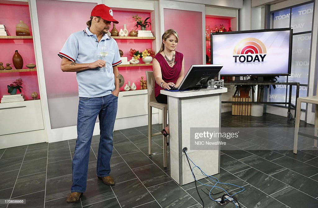 Kid Rock and Sara Haines appear on NBC News' 'Today' show --