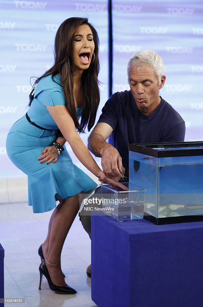 Kim Kardashian and Jeremy Wade appear on NBC News' 'Today' show --
