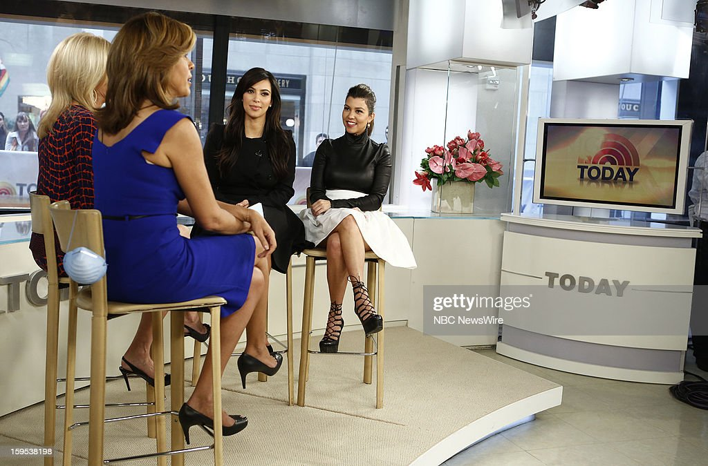 Kim Kardashian and Kourtney Kardashian appear on NBC News' 'Today' show --