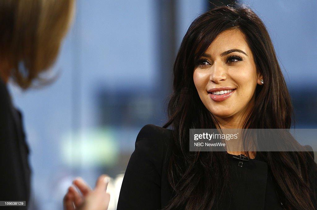 Kim Kardashian appears on NBC News' 'Today' show --