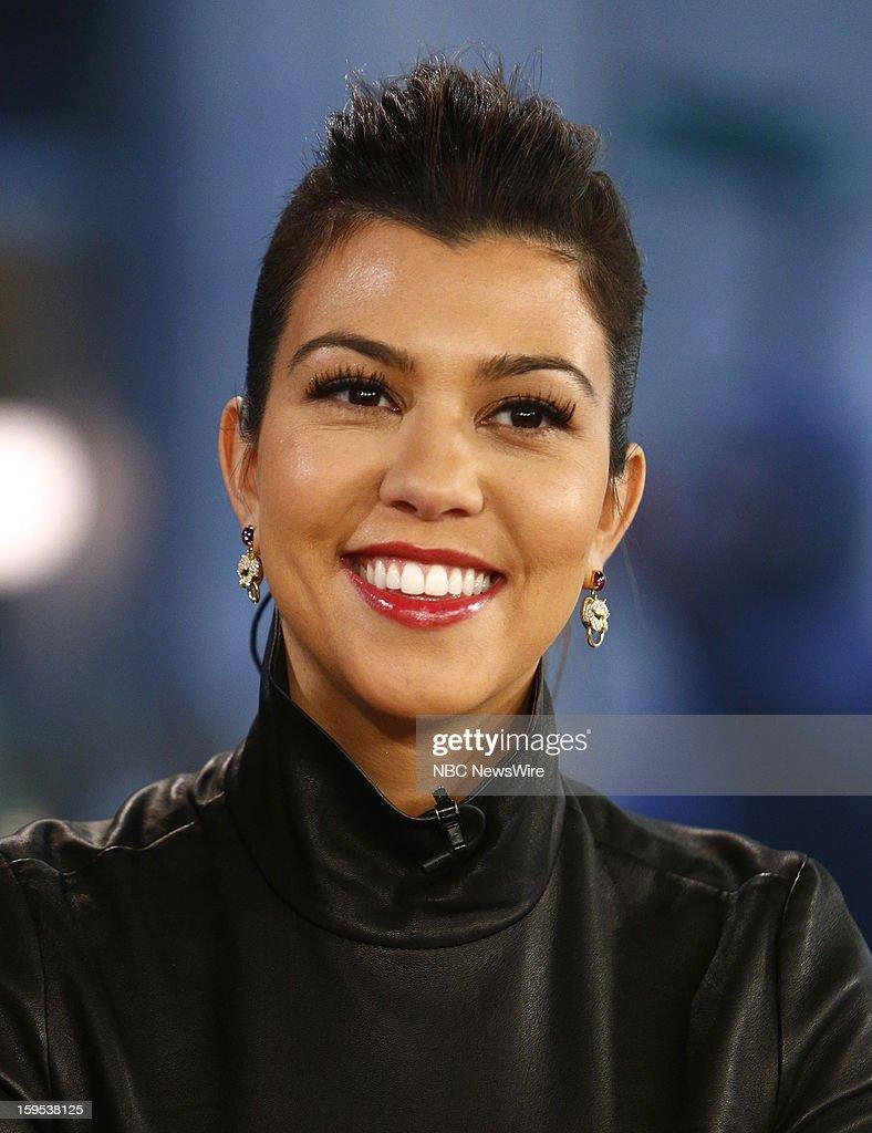 Kourtney Kardashian appears on NBC News' 'Today' show --