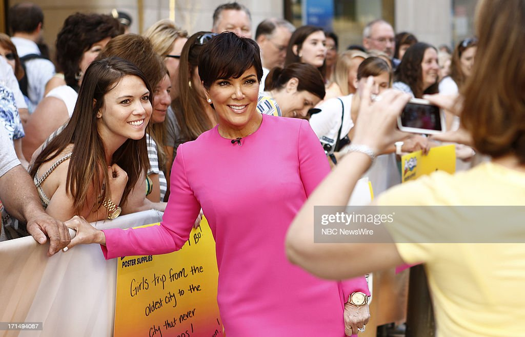 Kris Jenner appears on NBC News' 'Today' show --