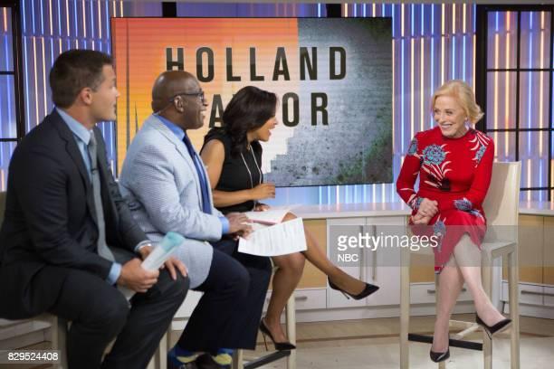 Kyle Brandt Al Roker Sheinelle Jones and Holland Taylor on Wednesday Aug 9 2017