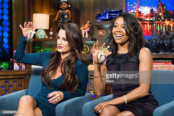 Kyle Richards and Gabrielle Union