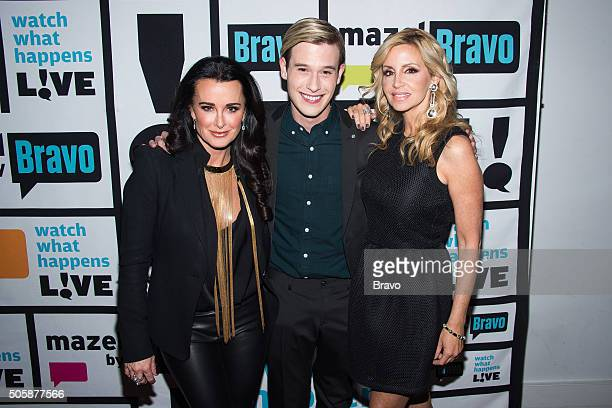 Kyle Richards Tyler Henry and Camille Grammer