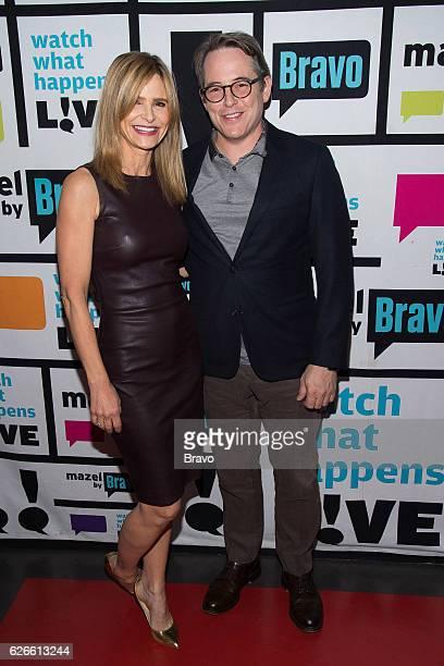 Kyra Sedgwick and Matthew Broderick