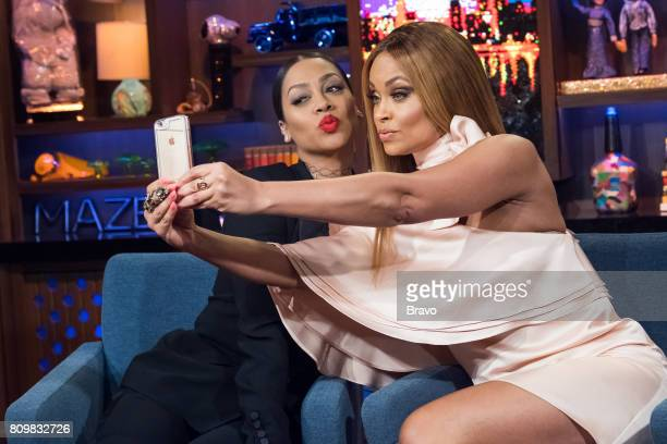La La Anthony and Gizelle Bryant