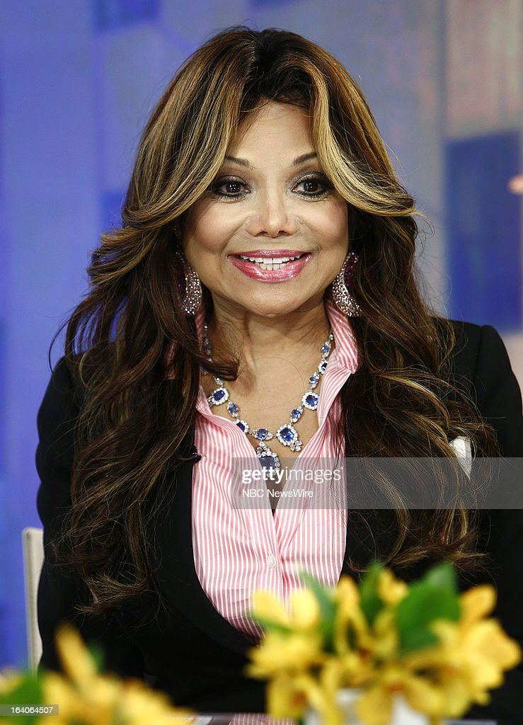 La Toya Jackson appears on NBC News' 'Today' show --