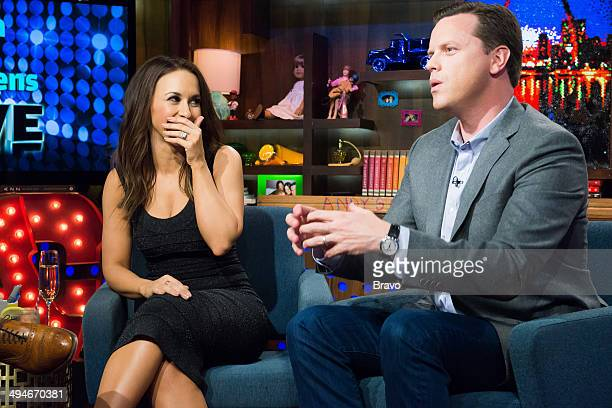 Lacey Chabert and Willie Geist