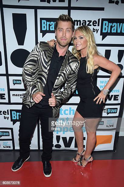 Lance Bass and Tamra Judge