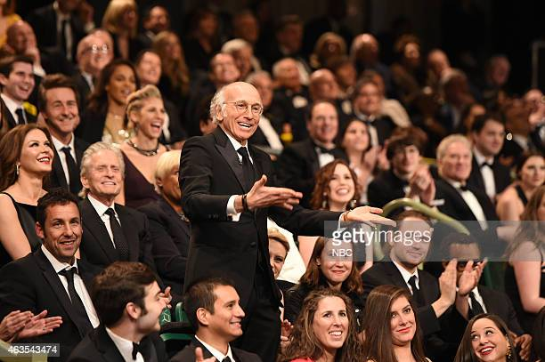 Larry David during the Audience QA skit on February 15 2015