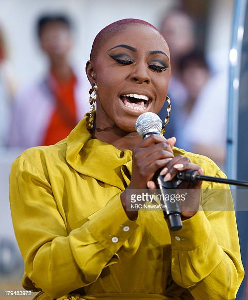Laura Mvula appears on NBC News' 'Today' show