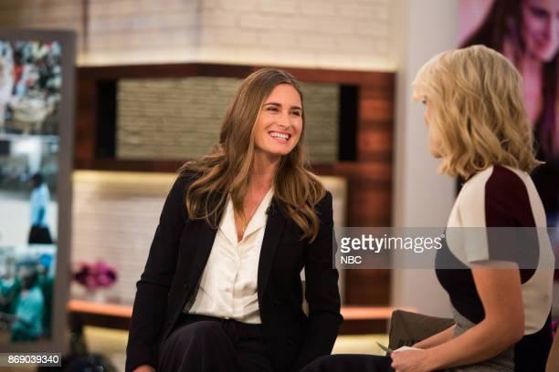 Lauren Bush and Megyn Kelly on Wednesday November 1 2017