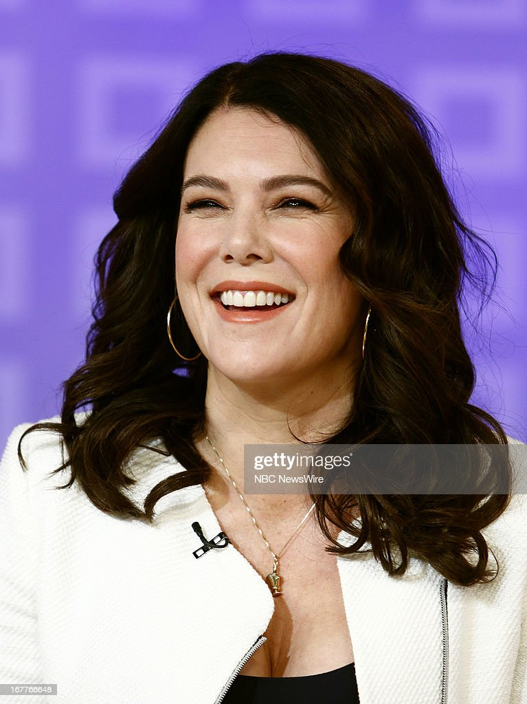 Lauren Graham appears on NBC News' 'Today' show --