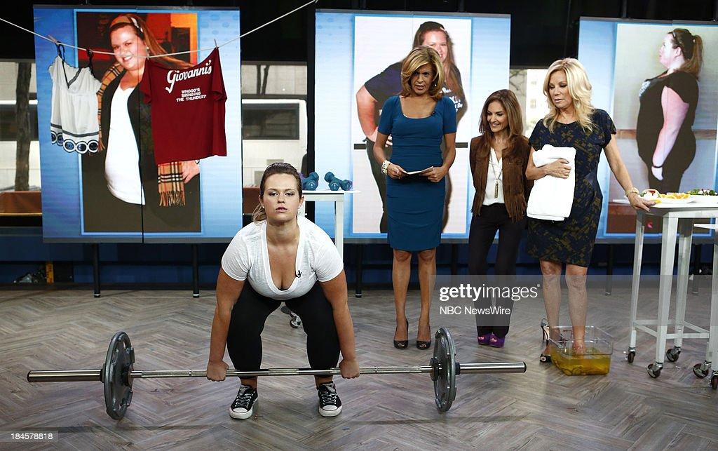 Lauren McComas, Hoda Kotb, Joy Bauer and Kathie Lee Gifford appear on NBC News' 'Today' show --