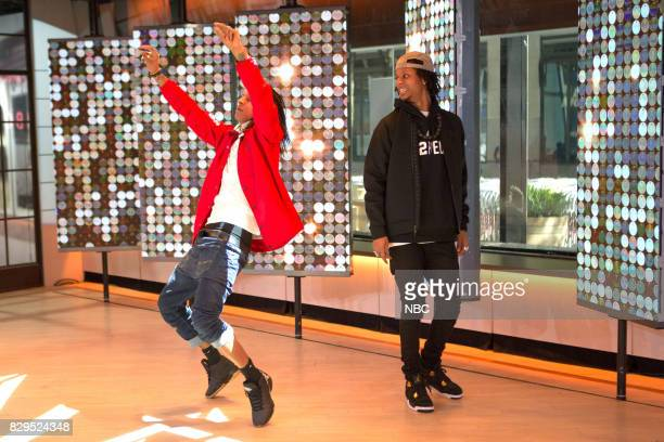 Laurent and Larry Bourgeois 'Les Twins' on Wednesday Aug 9 2017