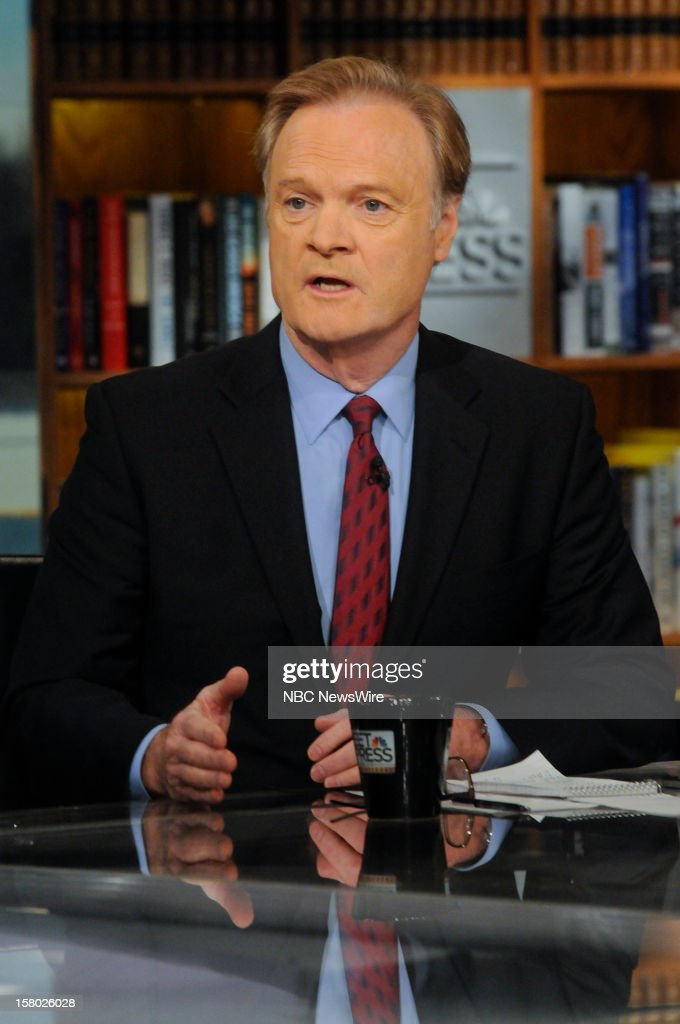 "– Lawrence O'Donnell, Host, MSNBC's ""The Last Word with Lawrence O'Donnell"" appears on 'Meet the Press' in Washington D.C., Sunday, Dec. 9, 2012."