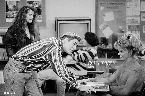 Leanna Creel as Tori Scott MarkPaul Gosselaar as Zack Morris Bridgette Wilson as Ginger