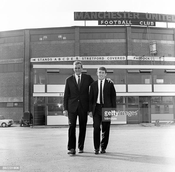 Pictured leaving Old Trafford with new manager Don Revie Johnny Giles was signed by Leeds for the sum of £33000 Giles joined Manchester United at 15...