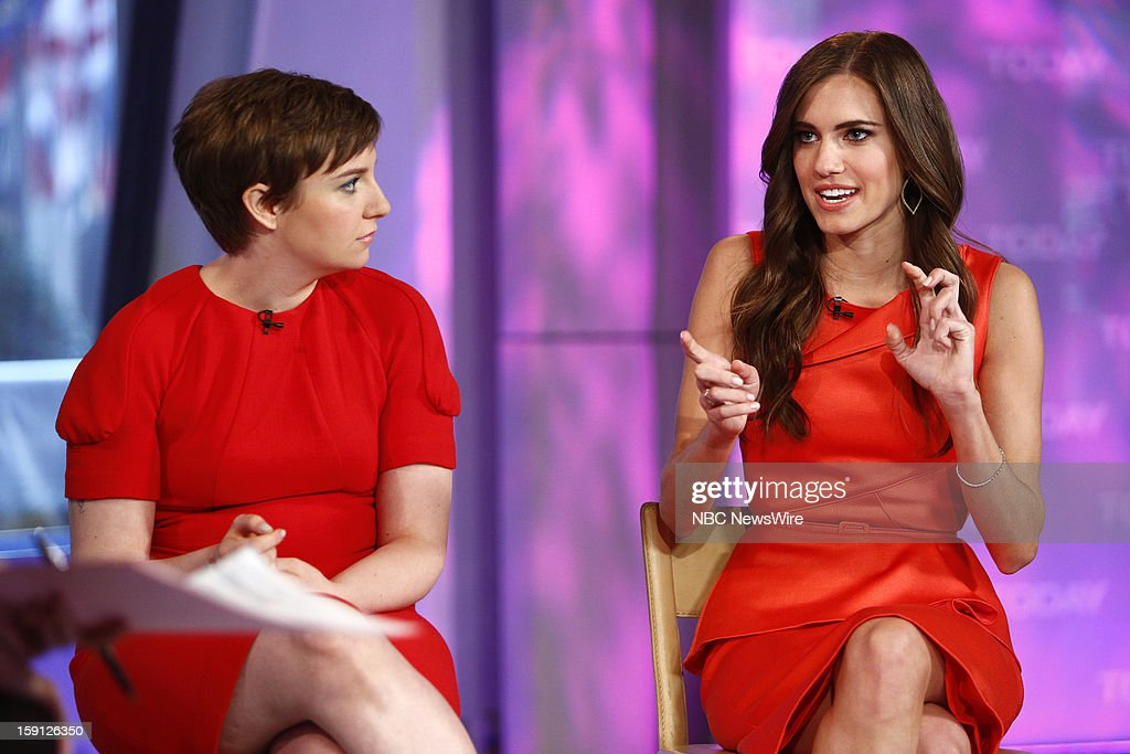 <a gi-track='captionPersonalityLinkClicked' href=/galleries/search?phrase=Lena+Dunham&family=editorial&specificpeople=5836535 ng-click='$event.stopPropagation()'>Lena Dunham</a> and <a gi-track='captionPersonalityLinkClicked' href=/galleries/search?phrase=Allison+Williams+-+Actress&family=editorial&specificpeople=594198 ng-click='$event.stopPropagation()'>Allison Williams</a> appear on NBC News' 'Today' show --