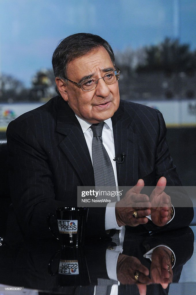 – Leon Panetta, Secretary of Defense, appears in a pre-taped interview on 'Meet the Press' in Washington D.C., Friday, Feb. 1, 2013.