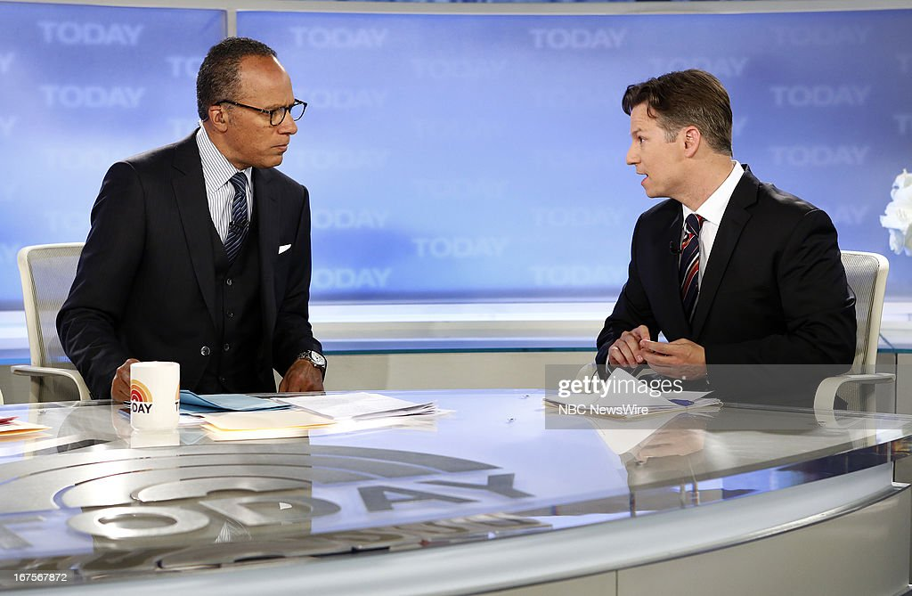 Lester Holt and Richard Engel appear on NBC News' 'Today' show --