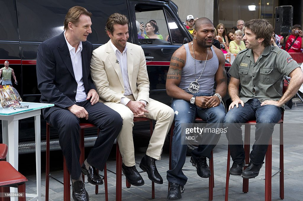 Liam NeesonBradley Cooper Quinton Jackson Sharlto Copley Actors from 'The ATeam' speak with 'Today' cohosts about taking the iconic '80s television...