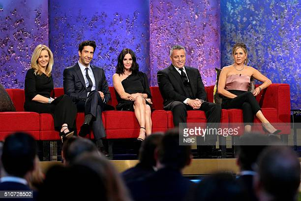 Lisa Kudrow David Schwimmer Courteneey Cox Matt LeBlanc Jennifer Aniston