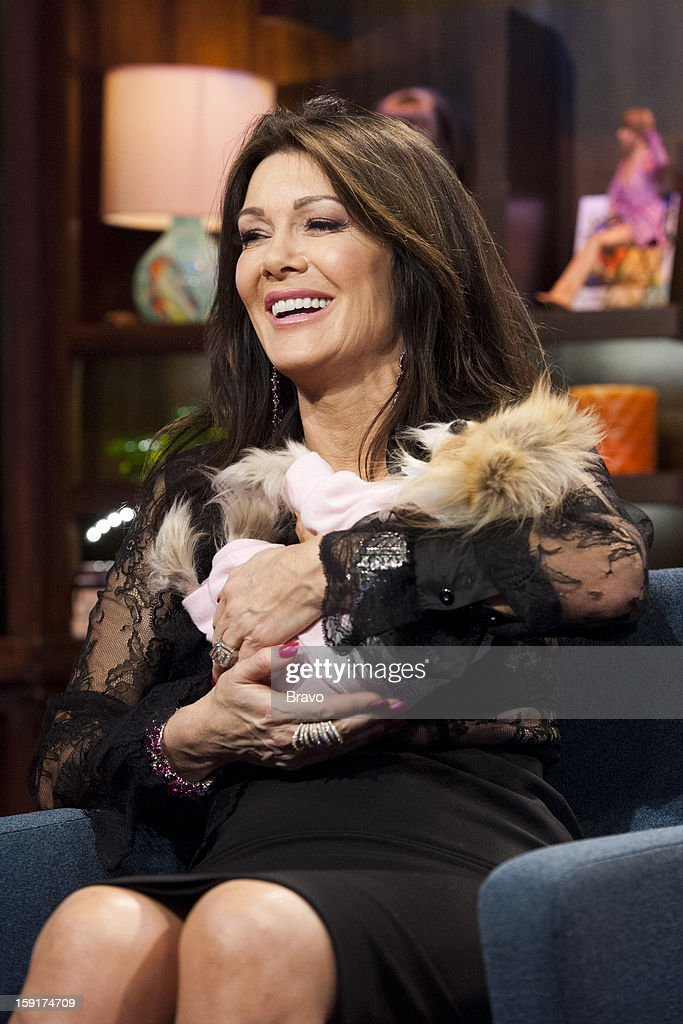 Lisa Vanderpump, Giggy the Pomeranian -- Photo by: Charles Sykes/Bravo/NBCU Photo Bank via Getty Images