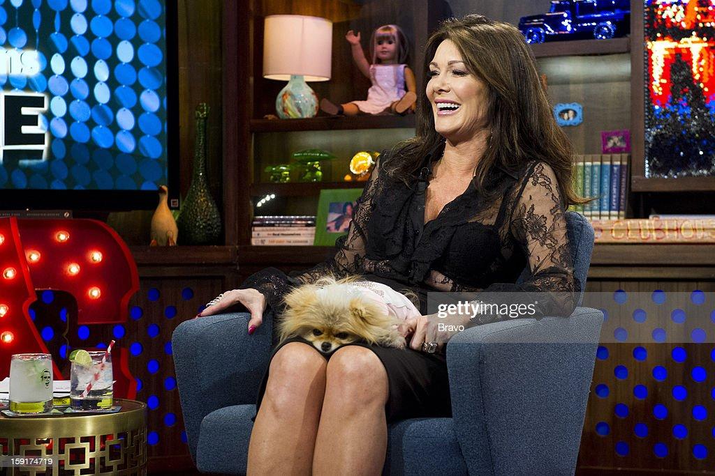 Lisa Vanderpump, Giggy the Pomeranian -- Photo by: Charles Sykes/Bravo/NBCU Photo Bank via Getty Images