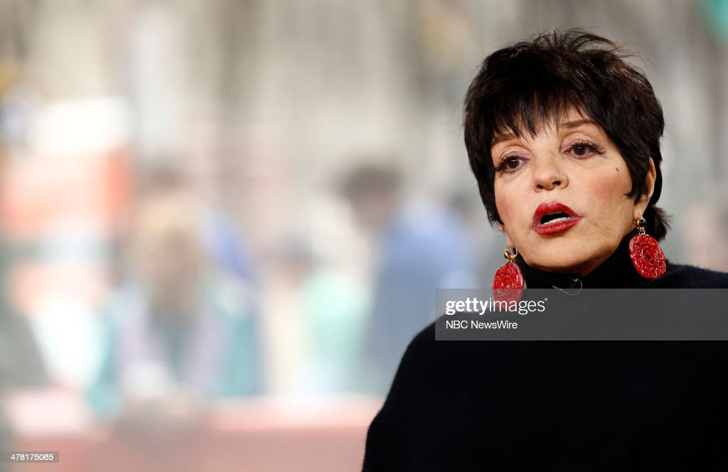 Liza Minnelli appears on NBC News' 'Today' show March 12 2014