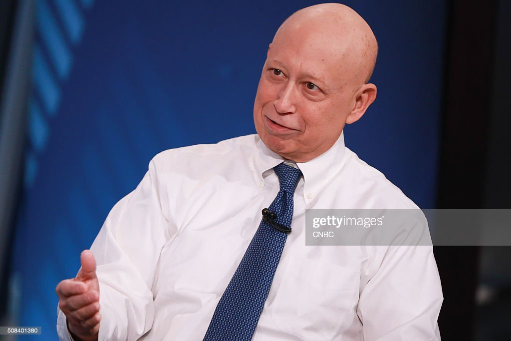 Lloyd Blankfein, Chairman and CEO of Goldman Sachs, in an interview on February 3, 2016 --