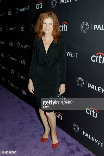 Lolita Davidovich at PaleyFest with the cast and producers of Law Order True Crime The Menendez Murders at the Paley Center in Beverly Hills on...
