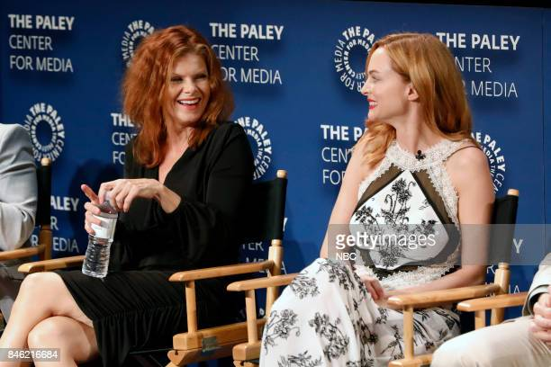 Lolita Davidovich Heather Graham at PaleyFest with the cast and producers of Law Order True Crime The Menendez Murders at the Paley Center in Beverly...